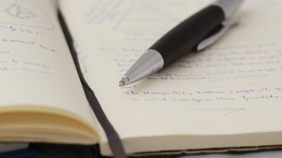 Spiritual Disciplines: Journalling